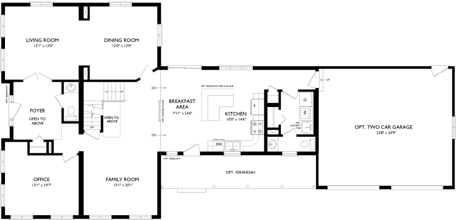 Quality Homes floorplan